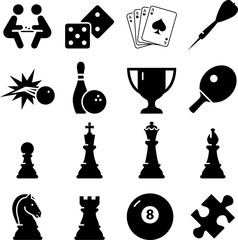 Game Icons - Black Series