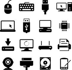 Hardware Icons - Black Series
