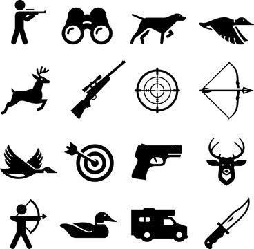 Hunting Icons - Black Series