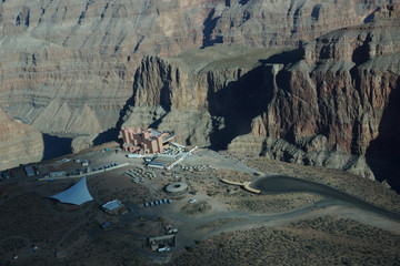 Aerial View of Skywalk - West Rim