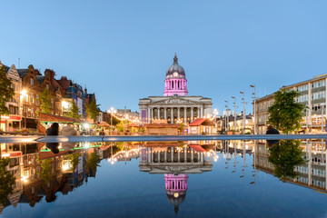 Nottingham town hall  England