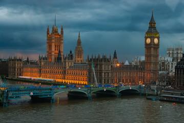 Keuken foto achterwand London Housed of Parliament- London