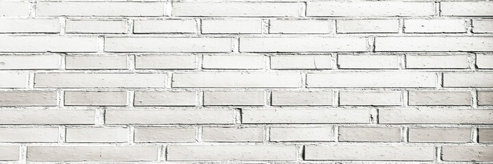 Brick wall texture. White brick wall background. White brick wall for interior or exterior design with copy space for text or image.