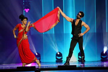 Actor Shahid Kapoor performs at the International Indian Film Academy Awards (IIFA) show at MetLife Stadium in East Rutherford