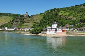 Burg Pfalzgrafenstein im Rhein bei Kaub