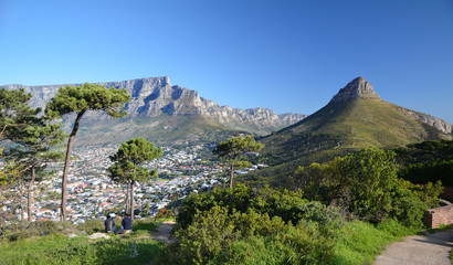 Cape Town - South Africa - View from Signal Hill