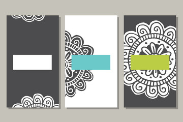 Cards in vector
