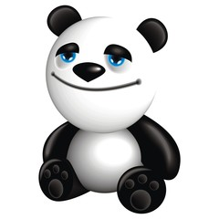 panda cheerful