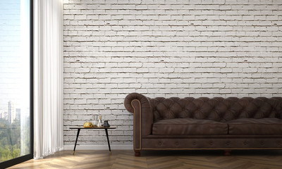 White Brick Wall Living Room Photos Royalty Free Images Graphics