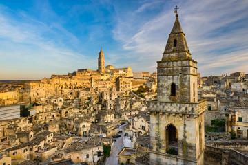 Skyline of Matera, Italy