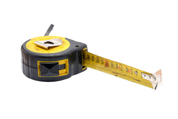 Tools collection - old tape measure