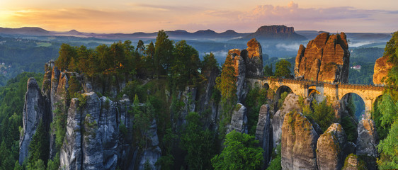Saxon Switzerland, Bastei