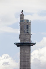 Rottweiler Testturm Baustelle