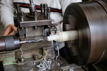 Manufacture by lathe