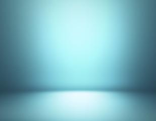 Blue gradient interior