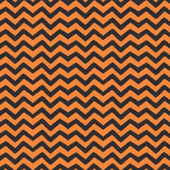 Orange and Black Chevron Halloween Graphic Pattern Background