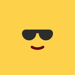 Emoji Tile Cool Sunglasses