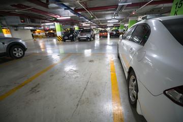Underground car parking/garage