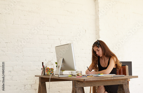 Hardworking College Student