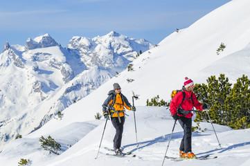 alpine Erlebnis Skitour