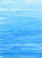 水色の水彩テクスチャ 背景