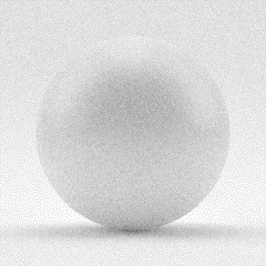Sphere. Black and white grainy dotwork design. Pointillism pattern. Stippled vector illustration.