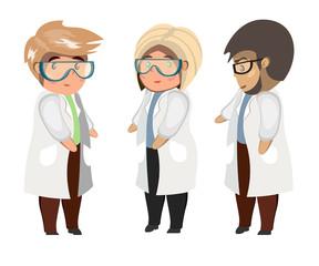 Medical team concept