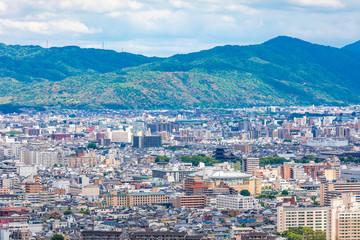 京都 京都市内遠望
