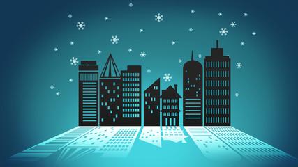 Ecology city concept