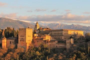 Canvas Prints Athens Alhambra de Grenade - Espagne