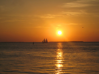 Sonnenuntergang auf den Florida Keys