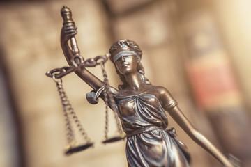 Justitia Symbol für Gerechtigkeit