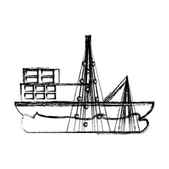 Fishing ship boat