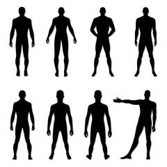Fashion man figure set