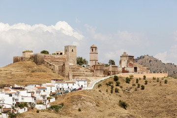 Andalusian village Alora, Spain