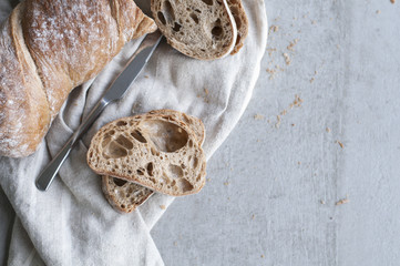 Wholegrain Ciabatta Slices
