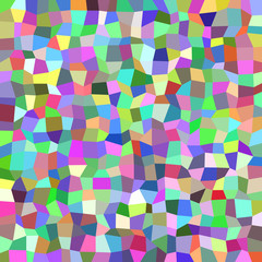 Colorful rectangle mosaic background - polygonal vector design from rectangles