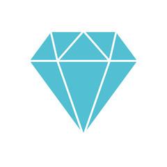 diamond figure isolated icon vector illustration design