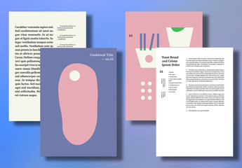 Whimsical Cookbook Layout