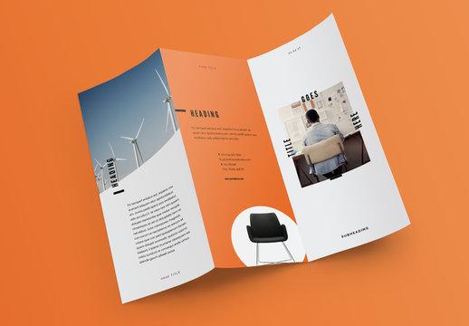 Pop Brochure Layout