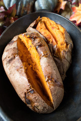 Healthy sweet potatoes for Thankgiving