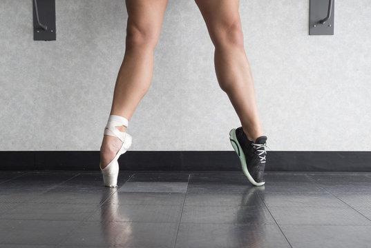 A Ballerina- Both Dancer and Athlete