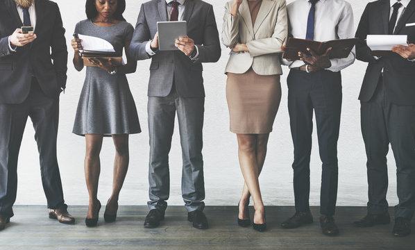 Business Management Occupation Research Concept