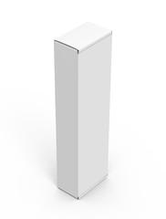 Blank paper box mock up