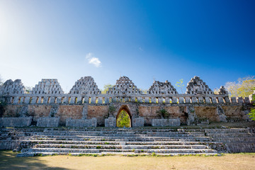 Keuken foto achterwand Rudnes Uxmal, Mexico, House of pigeons.