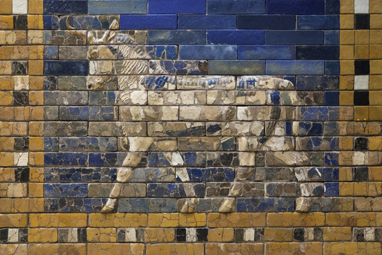 Mosaic of an Auroch on the Ishtar Gate