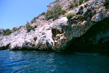 Beautiful Turquoise Cove Near Datca, in Mugla, Turkey