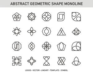 Geometric Shape Monoline