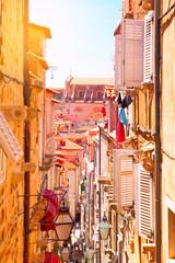 Wall Mural - Narrow side street in Dubrovnik