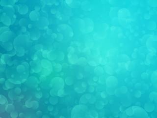 green bokeh shining background